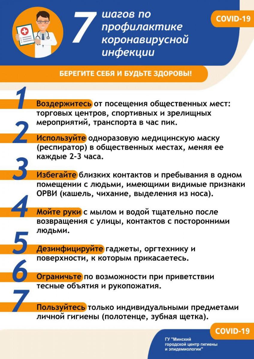 7 шагов профилактики
