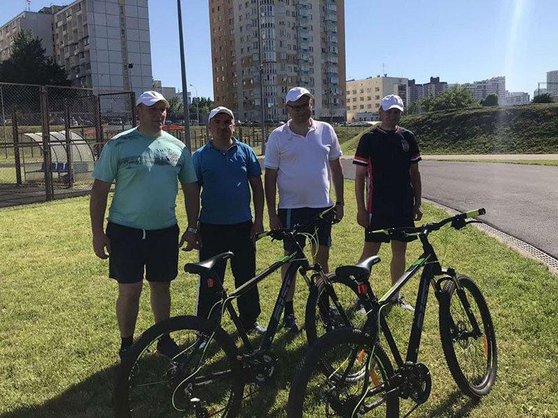 Велосипедная гонка руководителей организаций жилищно-коммунального хозяйства г.Минска